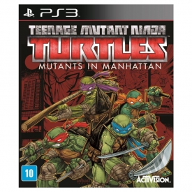 TEENAGE MUTANT NINJA TURTLES IN MANHATTAN PS3