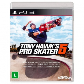 TONY HAWK PRO SKATER 5 PS3