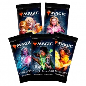 MAGIC THE GATHERING COLEÇÃO BÁSICA M19 BOOSTER
