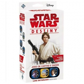 STAR WARS DESTINY LUKE SKYWALKER PACOTE INICIAL