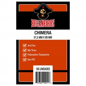 SLEEVES BUCANEIROS CHIMERA 57,5X89mm C/100