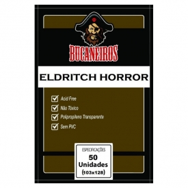 SLEEVES BUCANEIROS CUSTOMIZADO ELDRITCH HORROR 103x128mm C/50