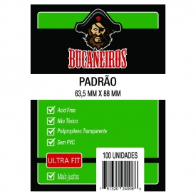 SLEEVES BUCANEIROS ULTRA FIT MTG 63,5x88mm C/100