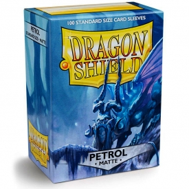 SLEEVES DRAGON SHIELD PETROL MATTE 63X88MM C/100