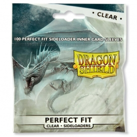SLEEVES DRAGON SHIELD SIDELOADER FIT CLEAR C/100