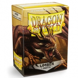SLEEVES DRAGON SHIELD UMBER MATTE 63X88MM C/100