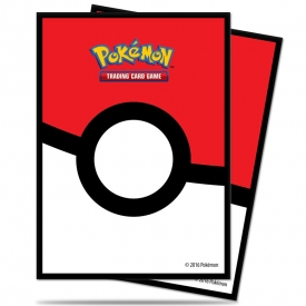 SLEEVES POKEMON ULTRA PRO POKEBALL 66X91MM C/65