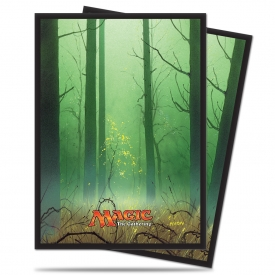 SLEEVES MAGIC ULTRA PRO MANA FLORESTA 66X91MM C/80