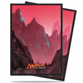 SLEEVES MAGIC ULTRA PRO MANA MONTANHA 66X91MM C/80