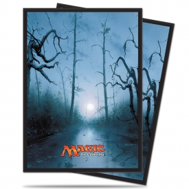 SLEEVES MAGIC ULTRA PRO MANA PÂNTANO 66X91MM C/80