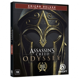 ASSASSINS CREED ODYSSEY STEELBOOK PS4