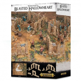 WARHAMMER REALM OF BATTLE BLASTED HALLOWHEART