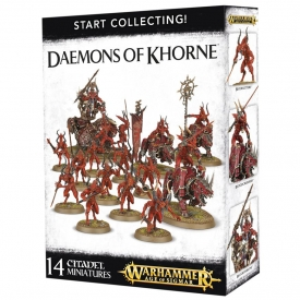 WARHAMMER START COLLECTING DAEMONS OF KHORNE