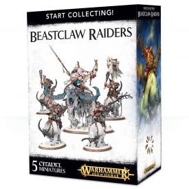 WARHAMMER START COLLECTING BEASTCLAW RAIDERS