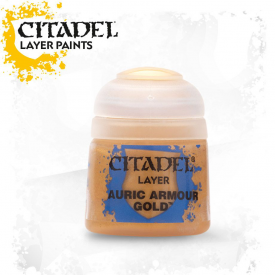 TINTA CITADEL LAYER AURIC ARMOUR GOLD 12 ML