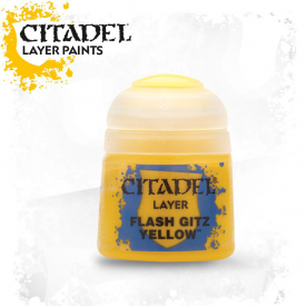 TINTA CITADEL LAYER FLASH GITZ YELLOW 12 ML
