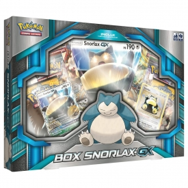 POKEMON BOX SNORLAX-GX