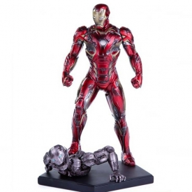 IRON MAN  MARK XLV BATTLE DAMAGED ART SCALE 1/10 IRON STUDIOS