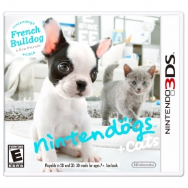 NINTENDO DOGS CAT FRENCH BULLDOGS 3DS