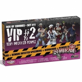 ZOMBICIDE BOX ZOMBIES VIP #2 VERY INFECTED PEOPLE