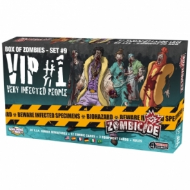 ZOMBICIDE BOX ZOMBIES VIP #1 VERY INFECTED PEOPLE