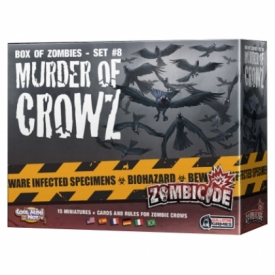 ZOMBICIDE BOX OF ZOMBIES SET #8 MURDER OF CROWZ