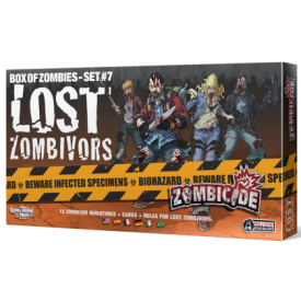 ZOMBICIDE BOX OF ZOMBIES LOST ZOMBIVORS