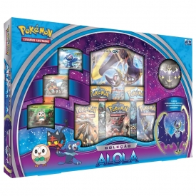 POKEMON BOX ALOLA LUNALA