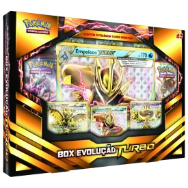 POKEMON BOX EVOLUCAO TURBO