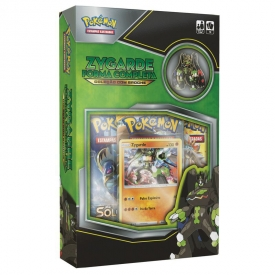 POKEMON MINI BOX ZYGARDE FORMA COMPLETA COM BROXE