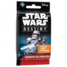 STAR WARS DESTINY ESPÍRITO DA REBELIÃO BOOSTER