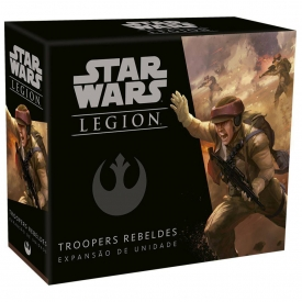 STAR WARS LEGION EXPANSÃO TROOPERS REBELDES