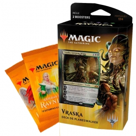 MAGIC THE GATHERING GUILDAS DE RAVNICA DECK PLANESWALKER VRASKA