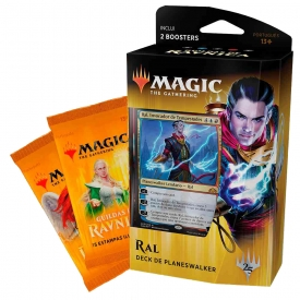 MAGIC THE GATHERING GUILDAS DE RAVNICA DECK PLANESWALKER RAL