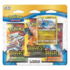 POKEMON DRAGÕES SOBERANOS TRIPLO PACK LATIOS