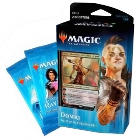 MAGIC THE GATHERING LEALDADE EM RAVNICA DECK PLANESWALKER DOMRI