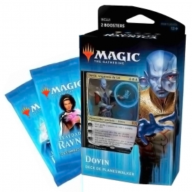 MAGIC THE GATHERING LEALDADE EM RAVNICA DECK PLANESWALKER DOVIN