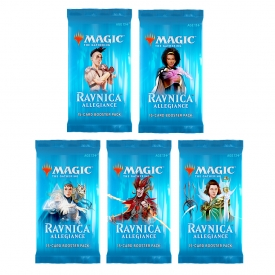 MAGIC THE GATHERING LEALDADE EM RAVNICA BOOSTER