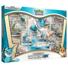 POKEMON BOX VAPOREON GX