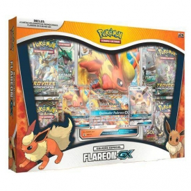 POKEMON BOX FLAREON GX