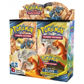 POKEMON SOL E LUA 10 ELOS INQUEBRÁVEIS BOOSTER BOX