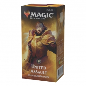 MAGIC THE GATHERING CHALLENGER DECK 2019 UNITED ASSAULT