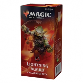 MAGIC THE GATHERING CHALLENGER DECK 2019 LIGHTNING AGGRO