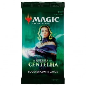 MAGIC THE GATHERING A GUERRA DA CENTELHA BOOSTER - PRÉ-VENDA