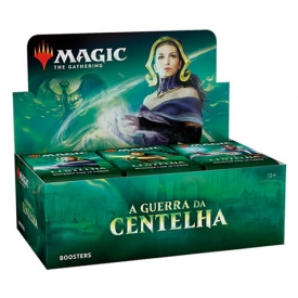 MAGIC THE GATHERING A GUERRA DA CENTELHA BOOSTER BOX - PRÉ-VENDA