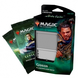 MAGIC THE GATHERING A GUERRA DA CENTELHA DECK GIDEON