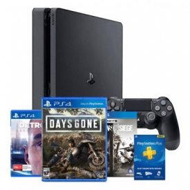 CONSOLE PS4 SLIM 1 TB HITS + 3 JOGOS + 3 MESES PLAYSTATION PLUS