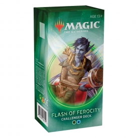 MAGIC THE GATHERING CHALLENGER DECK 2020 FLASH OF FEROCITY