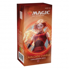 MAGIC THE GATHERING CHALLENGER DECK 2020 CAVALCADE CHARGE