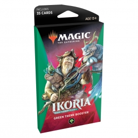 MAGIC THE GATHERING IKORIA THEME BOOSTER VERDE